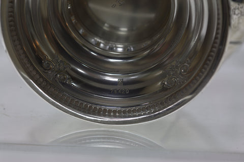 American Silver Five Piece Tea and Coffee Service, Towle Silversmiths, 20th century, in the Windsor Rose pattern