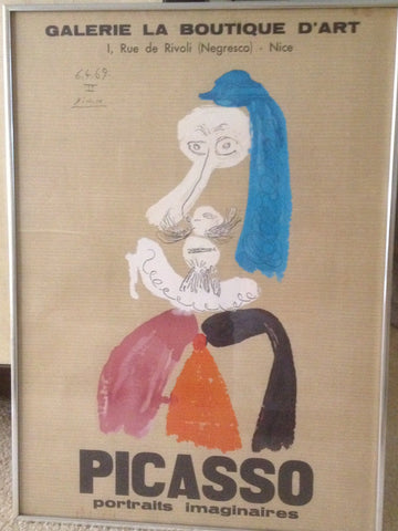 After Pablo Picasso (Spanish, 1881-1973), lithographic poster, ca. 1969