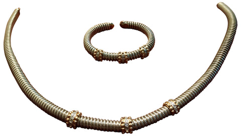 Alwand Vahan Necklace and Bracelet