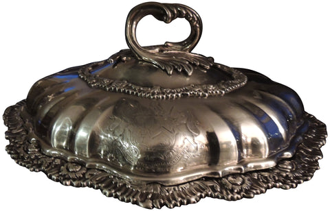 George IV Silver Entrée Dish and Cover