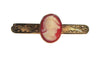 14K Yellow Gold and Cameo Tie Clip, ca. early 20th century