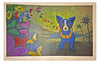 "George Rodrigue (American, 1944-2013), ""Hawaiian Blues"", 1998, screenprint in colors, signed"