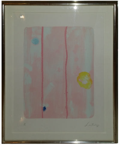 "Helen Frankenthaler (American, 1928-2011), ""Reflections VII"", 1995, lithograph in colors, signed and dated, ed. 30"