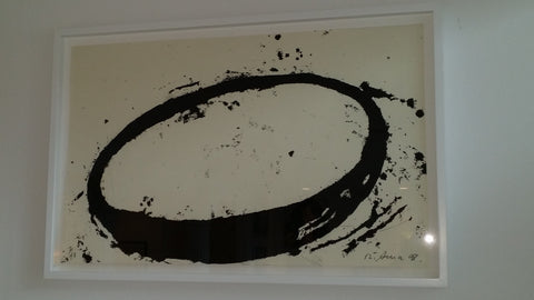 "Richard Serra (American, b. 1939), ""L.A.9.8."", 1998, etching in colors, ed. 43"