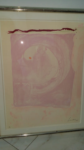 "Helen Frankenthaler (American, 1928-2011), ""Reflections IX"", 1995, lithograph in colors, signed and dated, ed. 30"