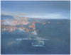 Steve Smith (American), View of Uptown Butte, 2008, oil on panel