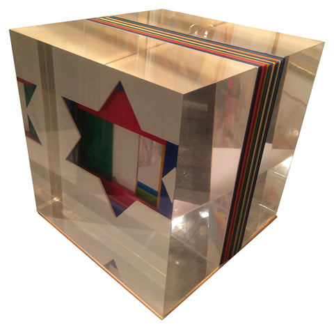 Yaacov Agam (Israeli, b. 1928), Untitled, acrylic, signed and numbered