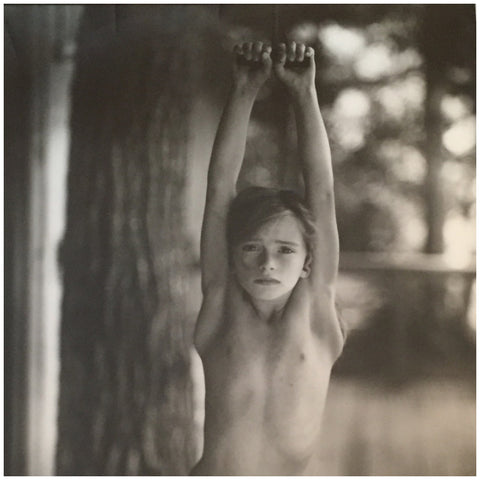 "Sally Mann (American, b. 1951), ""The Bent Ear"", 1989/2001, gelatin silver print, signed and inscribed, ed. 25"