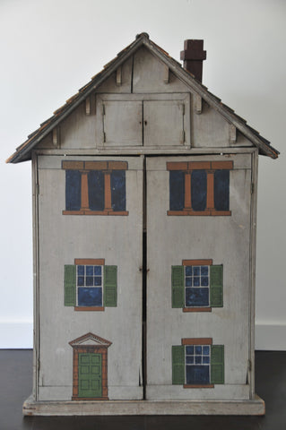 American Painted Wood Dollhouse, New Hampshire, 1890-1920