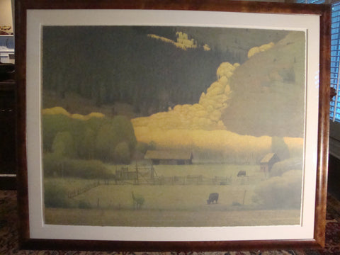 "Russell Chatham (American, b. 1939), ""The Colorado Suite"", suite of four lithographs in colors, ca. 1999-2000, signed, ed. 300"