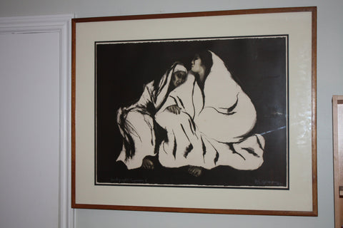 "R.C. Gorman (Native American/Navajo, 1931-2005), ""Night"", 1975, lithograph, signed, ed. 70"