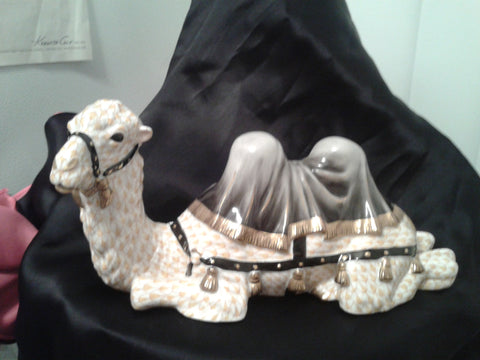 Herend Porcelain Figure of a Camel, ca. 1999