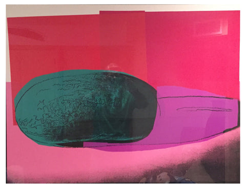 "Andy Warhol (American, 1928-1987), ""Watermelon"", from ""Space Fruit: Still Lifes"", screenprint, 1979 (F & S II.199)"