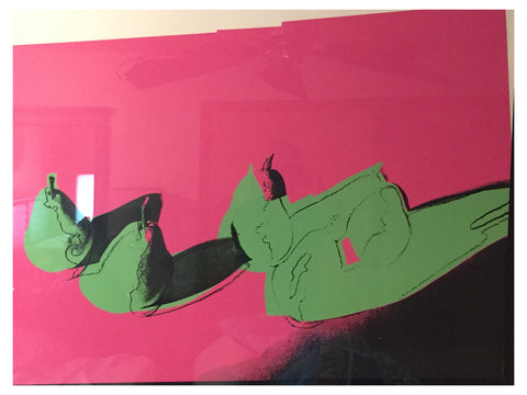 "Andy Warhol (American, 1928-1987), ""Pears"", from ""Space Fruit: Still Lifes"", screenprint, 1979, (F & S II.203)"