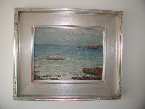 "Cullen Yates (American, 1866-1945), ""Ogunquit Maine"", oil on canvas, signed"