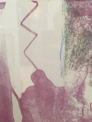 "Helen Frankenthaler (American, 1928-2011), ""Reflections X"", 1995, lithograph in colors, signed and dated, ed. 30"