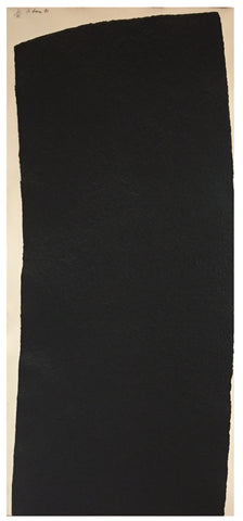 "Richard Serra (American, b. 1939), ""Vesturey I"", from ""Vesturey I-III"", 1991, etching and aquatint construction, signed, ed. 35"