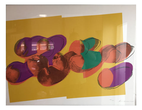 "Andy Warhol (American, 1928-1987), ""Peaches"", from ""Space Fruit: Still Lifes"", screenprint, 1979, (F & S II.202)"