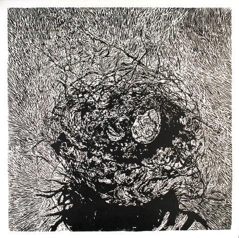 "Tracy Lang (American, b. 1971), ""Nest"", 2006, woodcut, signed"