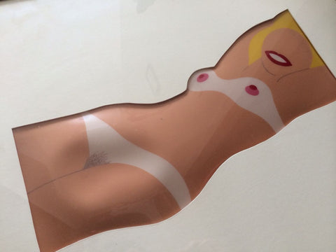 Tom Wesselmann (American, 1931-2004), Cut-Out Nude, from 11 Pop Artists, Vol. 1, 1965
