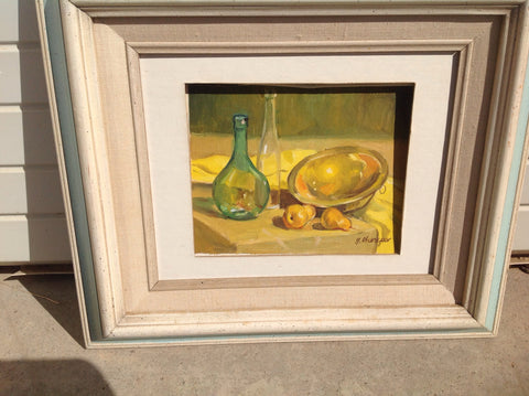 George Cherepov (American, 1909-1997), Still Life, oil on canvas board, signed, ca. 1970