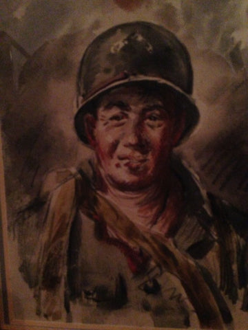Henry Martin Gasser (American, 1909 - 1981), (Three Works) Military Illustrations, three watercolors on paper