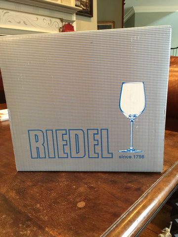 Set of Six Riedel Sommeliers Series Chardonnay Glasses No. 400/0, 20th century, fully marked, with original box