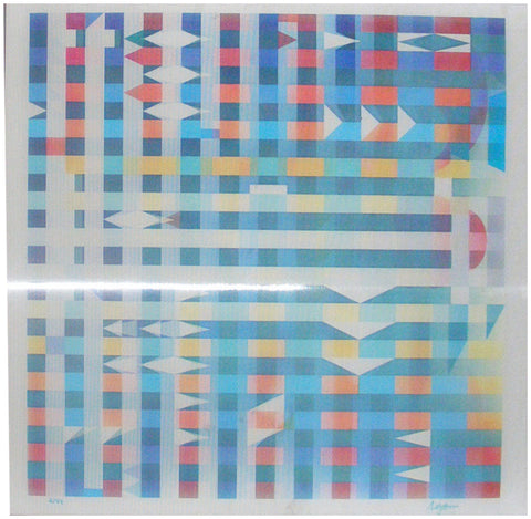 "Yaacov Agam (Israeli, b. 1928), ""Yucatan Magic"", agamograph, signed and numbered 2/99"
