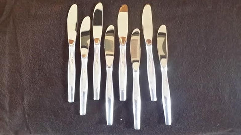 American Silver Flatware Service, Gorham Mfg. Co., Providence, RI, in the Stardust pattern, 20th century