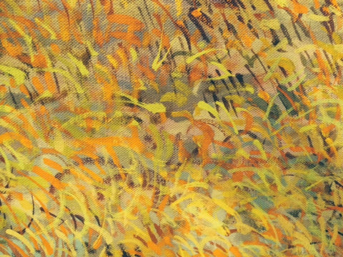 "Gabor F. Peterdi (American, 1915-2001), ""Sagebrush"", oil on canvas, signed and dated 1978"