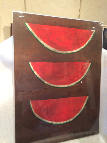"Rufino Tamayo (Mexican, 1899-1991) ""Sandias"", lithograph in colors, 1973, signed, numbered 30/75"