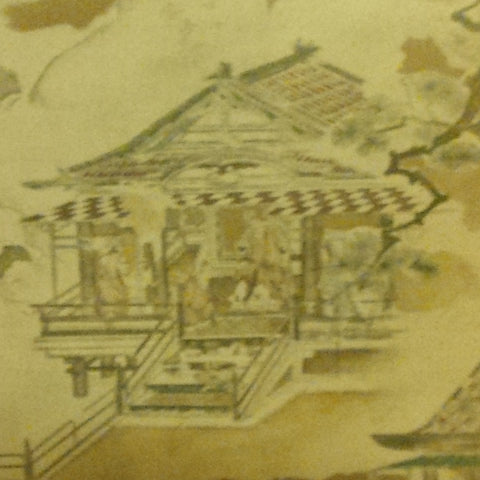 Japanese School (19th Century), Summer Palace, after a Kano school painter, 19th century