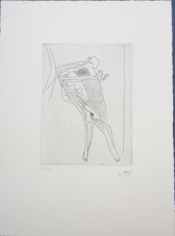 Roberto Matta (Chilean, 1911-2002), The New School, complete set of ten etchings, 1943/80, signed and numbered
