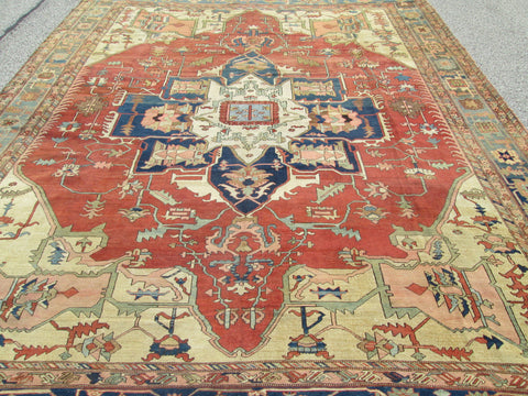 Oversize Persian Serapi Rug, Northwest Iran, 4th quarter 19th century