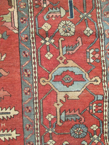 Persian Serapi Rug, Northwest Iran, 4th quarter 19th century