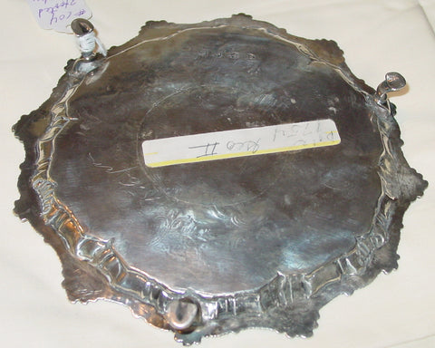 George II Silver Salver, Dorothy Sarbitt, London, 1754