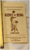 """The Science of Being"", by Eugene Fersen J. F. Tapley Co.: New York, 1923, first edition, with 1927 booklet"