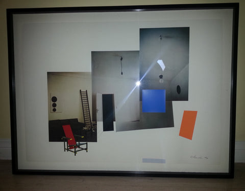 "Richard Hamilton (British, 1922-2011), ""Interior with Monochromes"", 1979, collotype and screenprint in colors, signed"