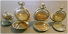 Four Yellow Gold Pocket Watches American & British, manufactured by Hampden, Elgin, and Elgin National