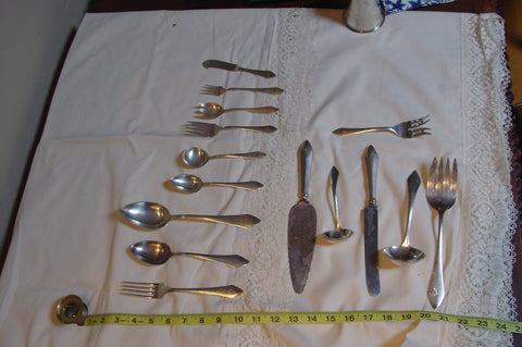 "American Silver Flatware Service, William B. Durgin Co., Concord, N.H., 20th century, in the ""Chatham"" pattern"