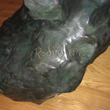 "After Auguste Rodin (French, 1840-1917) ""L'Eternal Printemps"", patinated bronze cast after the original, inscribed"