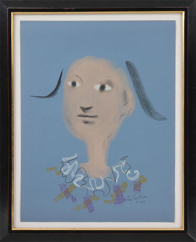 Jean Cocteau (French, 1889-1963), Pastels Dessins, Galerie du Pont des Arts, serigraph, signed and dated 1955