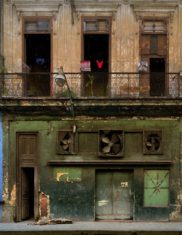 "Michael Eastman (American, b. 1947) ""Three Fans, Havana,"" chromogenic print, signed and numbered"