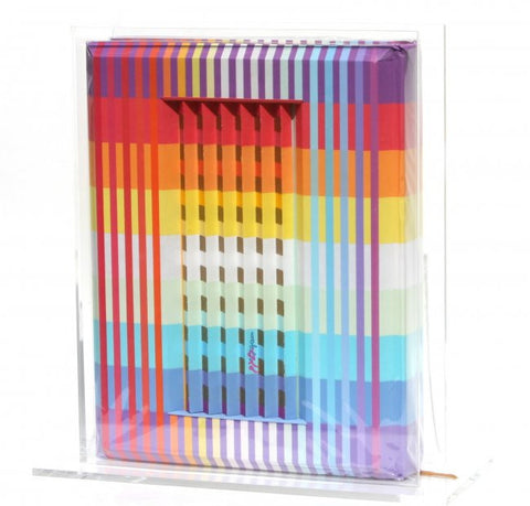 "Yaacov Agam (Israeli, b. 1928), ""The Agam Torah"", with 3D polymorph cover, signed and numbered"