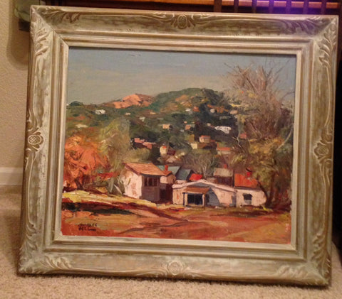 Charles Bell (American, 20th Century), California Landscape, oil on canvas, signed