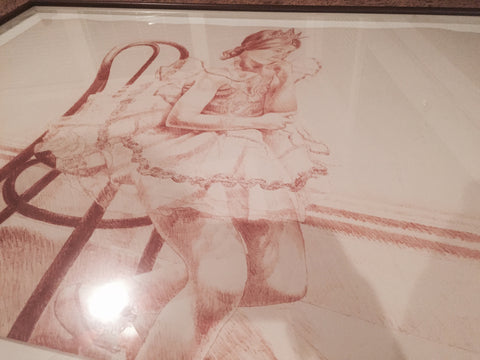 Philip Pearlstein (American, b. 1924), Ellen in Tutu, 1972, lithograph in colors, signed publisher's impression