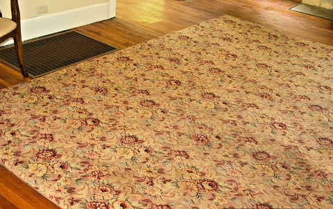 "American ""Bigelow"" Machine Loomed Wool Carpet,  Clinton, ca. 1920s"
