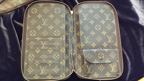 "Louis Vuitton Monogram Travel Wallet, ""Poche Escapade"",  French, ca. late 1970s to early 1980s"