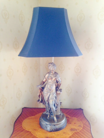 Gilt Figural Table Lamp, 20th century