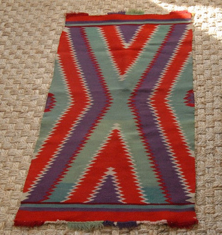 Germantown Navajo Saddle Blanket, Southwest United States, 2nd quarter 20th century